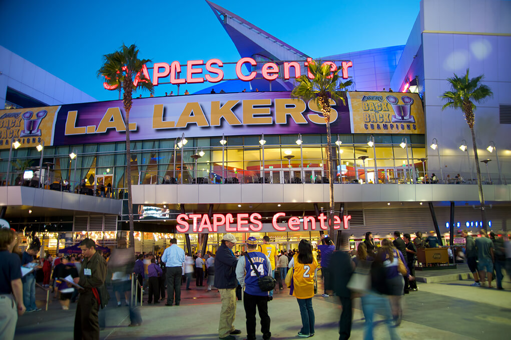 Staples Center Before A Game
