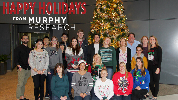 Season's Greetings from Murphy Research!